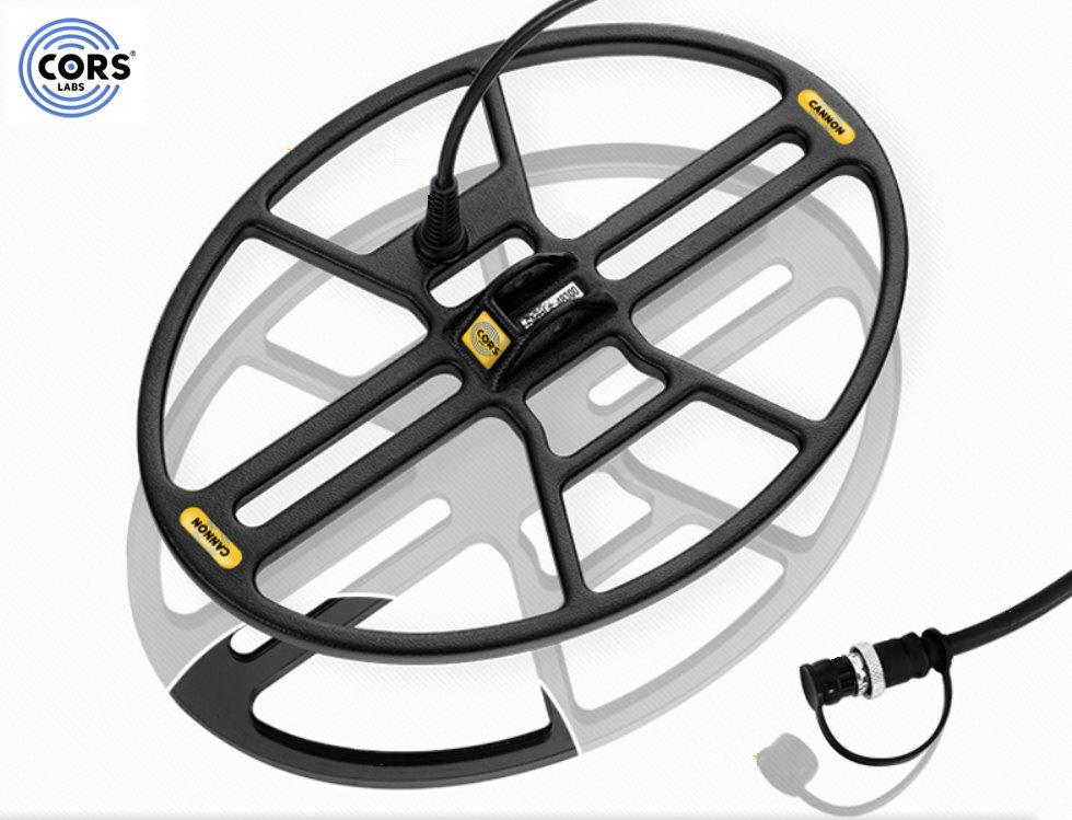 CORS CANNON Hochleistungsspule für den Fisher F11/F22/F44/F5/Gold Bug/F19