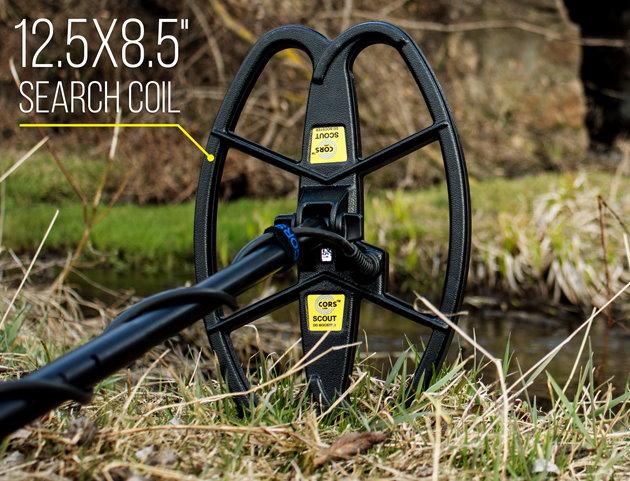 CORS SCOUT Hochleistungsspule für Fisher F11/F22/F44/F5/Gold Bug/F19