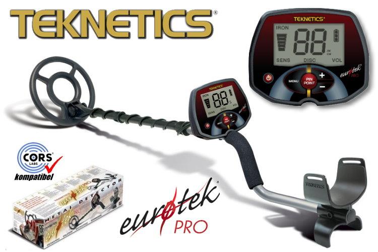 Teknetics Eurotek PRO LTE Metalldetektor