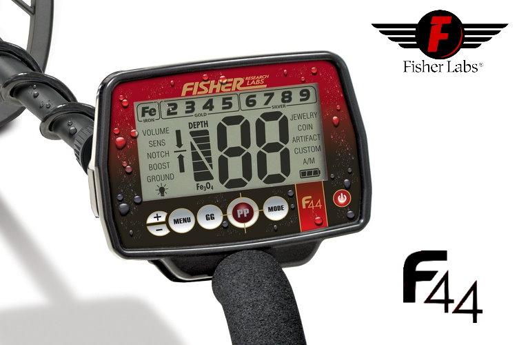 Metalldetektor Fisher F44