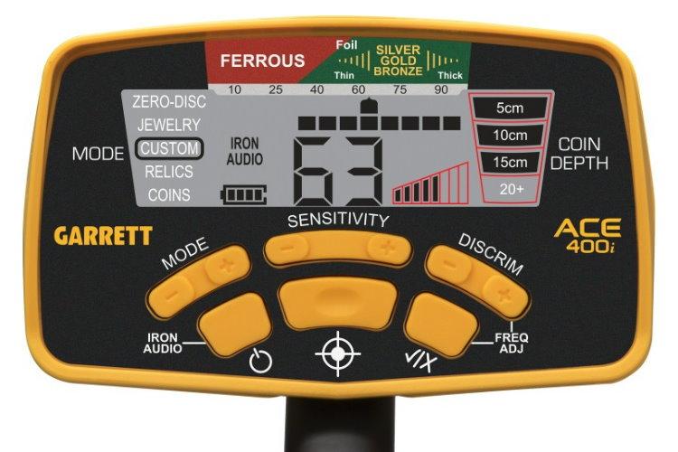 Garrett ACE 400i+ Metalldetektor ProfiSet