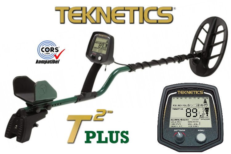 Teknetics T2 plus Metalldetektor